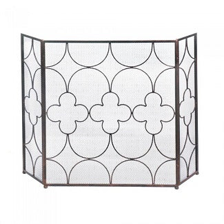 Clover Fireplace Screen