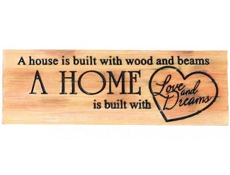 House & Home Sign