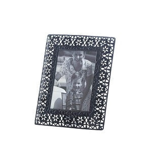 Moroccan Cutout Flowers Frame - Medium