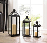 Midtown Large Black Lanterns