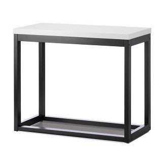 Modern Long Black Frame Table
