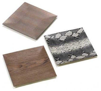 Wild Printed Decorative Trays Set Of Three