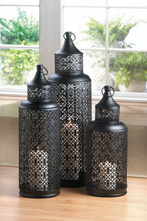 Beautiful Morocco Tower Lantern- Large