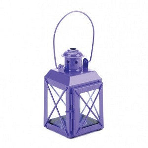 Railway Candle Lamp Purple