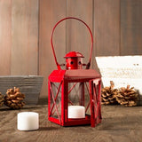 Railway Candle Lamp Red
