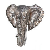 Elephant Bust Plaque