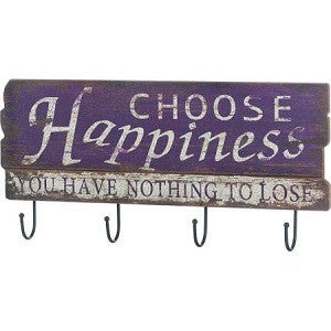 Happiness Wall Hook