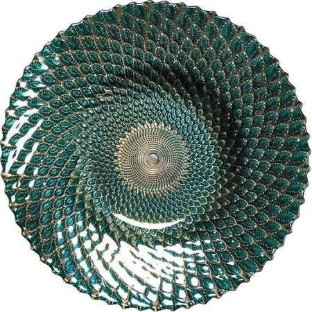 Iridescent decorative Plate