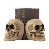 Skull Bookends Set of Two