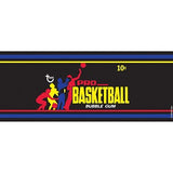 Retro Basketball Gum Wrapper 1971