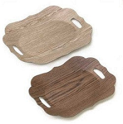 Scallop Edge Display Trays Set of Two