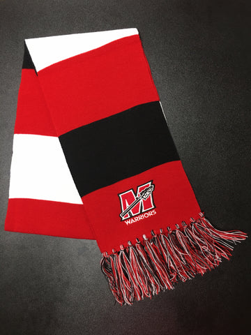 Warrior Striped Scarf