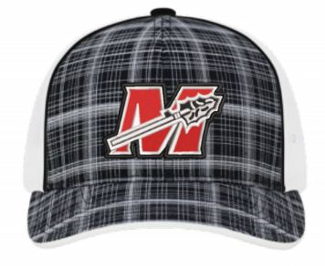 Trucker Plaid Warrior Baseball Cap