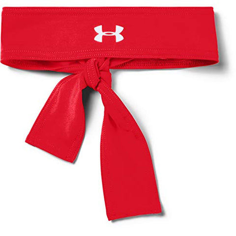 Under Armour Tie Headbands - Red, White, or Black