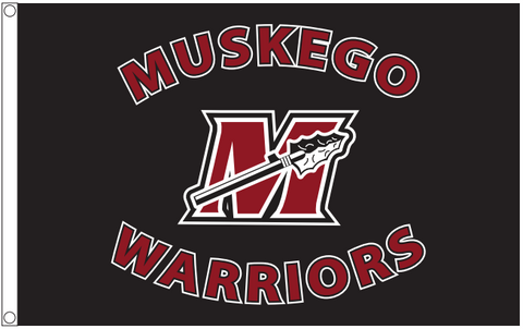 Muskego Warrior Flag