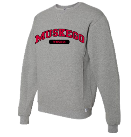 UA Gray Crew Neck Sweatshirt