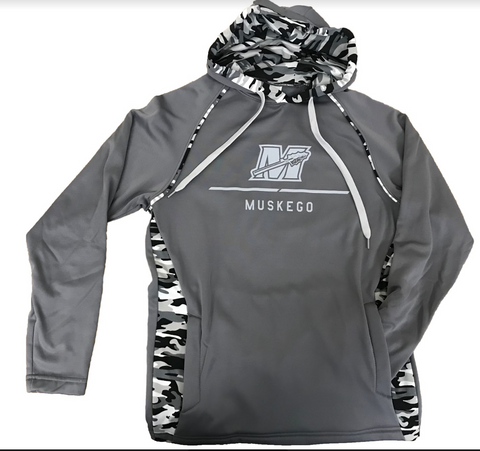 Graphite Mod Camo Men's Performance Hoodie by Augusta