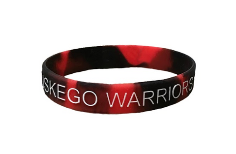 Wristband - Black & Red Combination