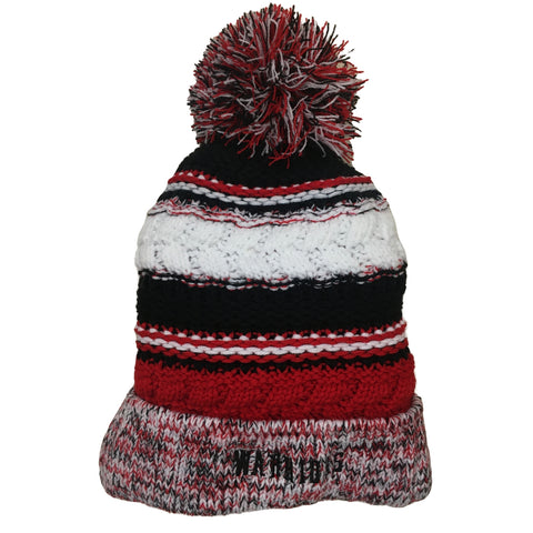 Warriors Pom Pom Hat