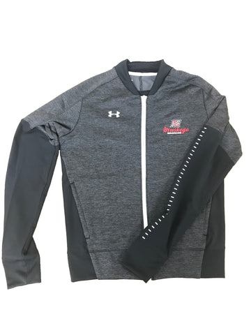 Ladies UA Qualifier Hybrid Full-Zip Warm-Up Jacket