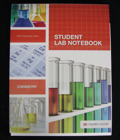 Notebook - Chemistry