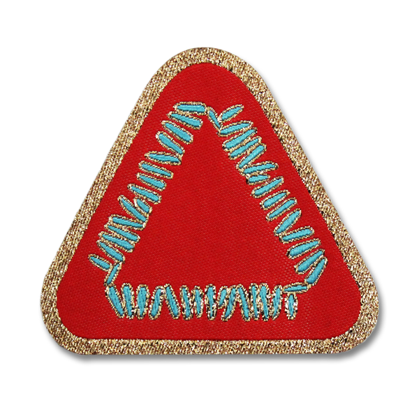 Official Warpaint Triangle Logo Woven Patch