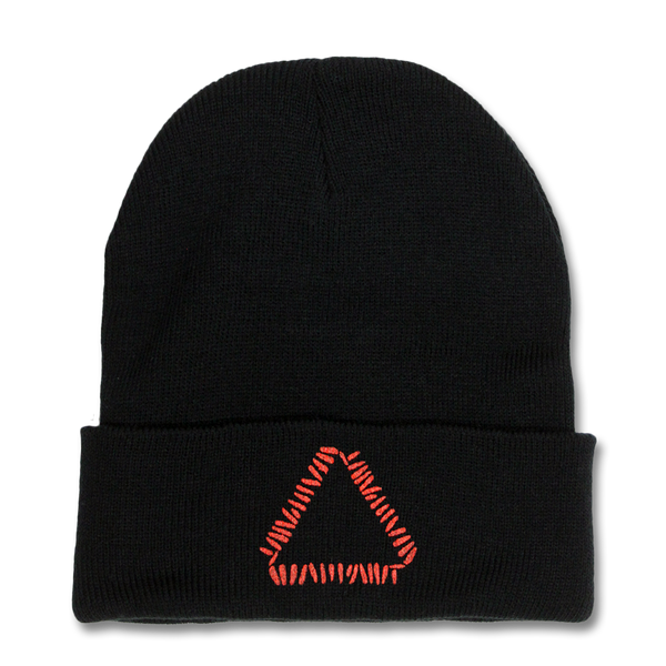 Triangle Logo Beanie (Black)