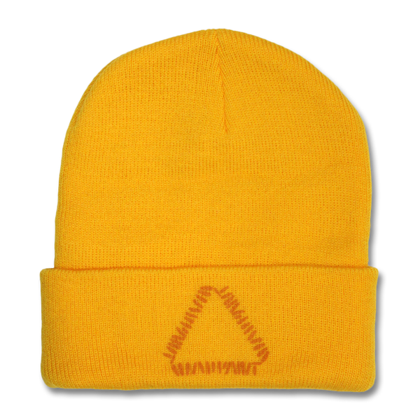Official Warpaint Triangle Logo Beanie (Gold)