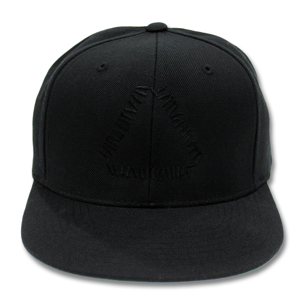 97bbf123fe0 Official Warpaint Embroidered Triangle Logo Snapback (Black)