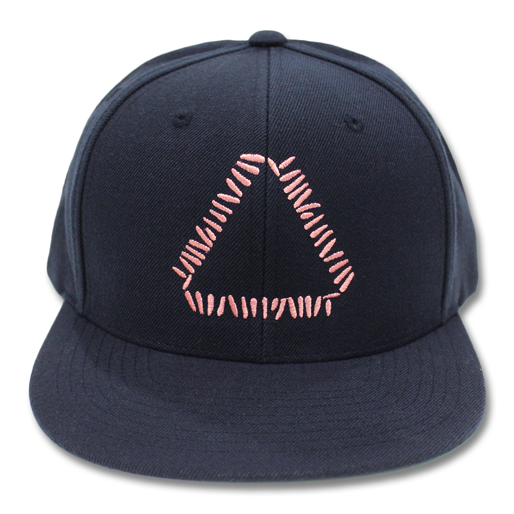 45d20705 Official Warpaint Embroidered Triangle Logo Snapback (Navy ...