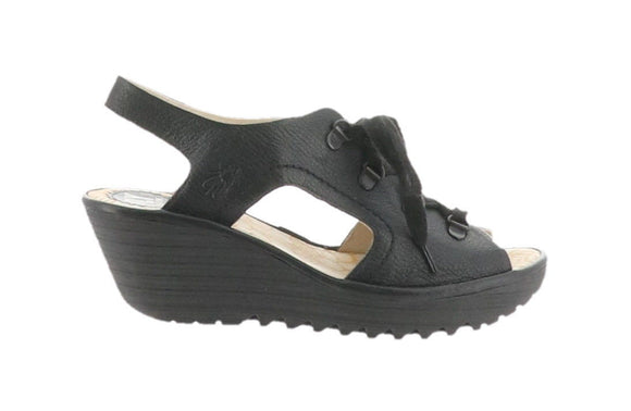 Fly London Women's Ylfa Wedge Sandals