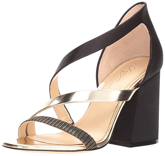 Imagine Women's Abi Pumps Black/Soft Gold