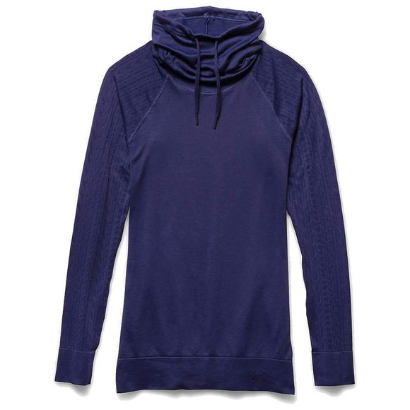 Under Armour Women's Seamless Funnel Neck Athletic Shirt Purple Size Medium