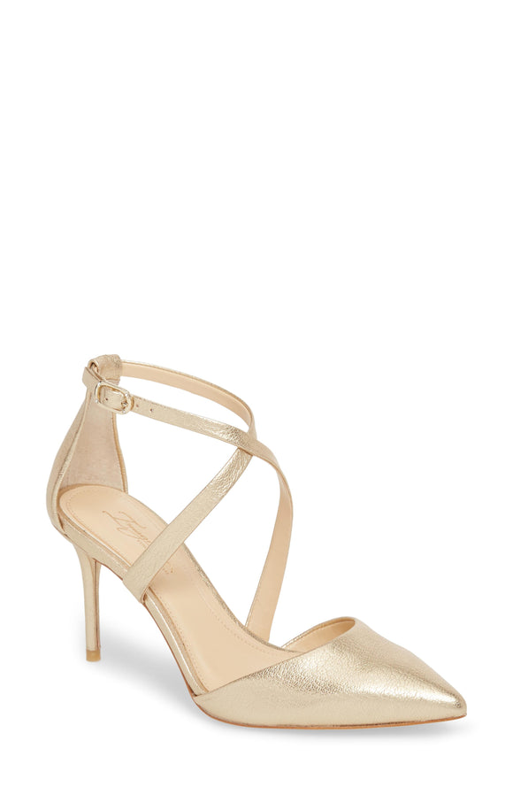 Imagine Women's Gabe Pumps Soft Gold