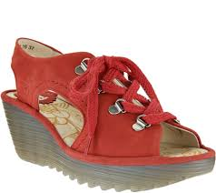 Fly London Women's Ylfa Sandals Size 9.5-10.0M
