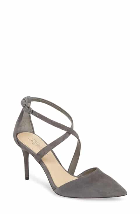 Imagine Women's Gabe Pumps Storm Grey