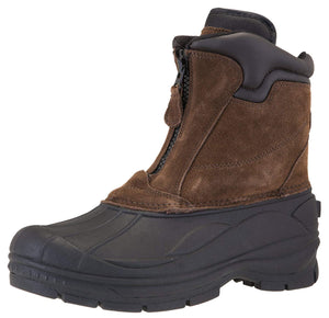 Khombu Men's Grip Winter Boots Brown