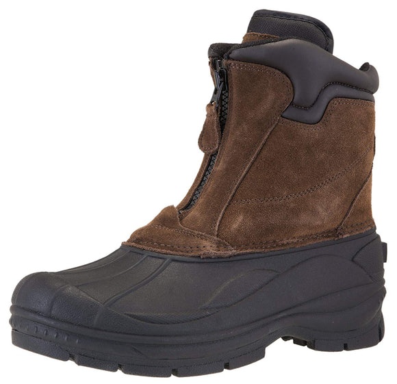 Khombu Men's Grip Boots Brown