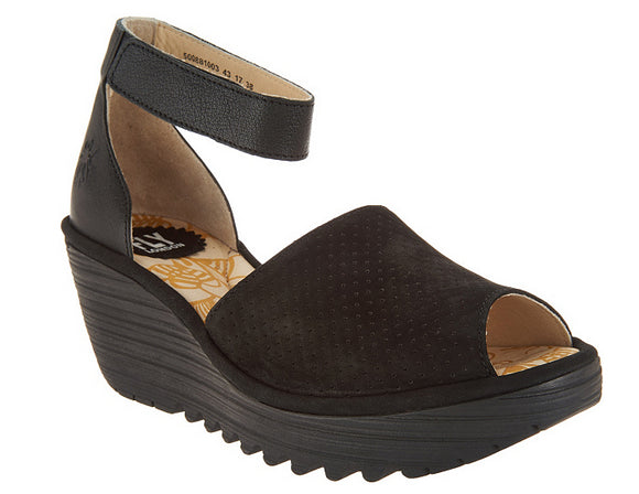 Fly London Women's Yake Sandals Size 8.0-8.5M