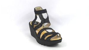 Fly London Women's Yebe Sandals Size 9.5-10.0M