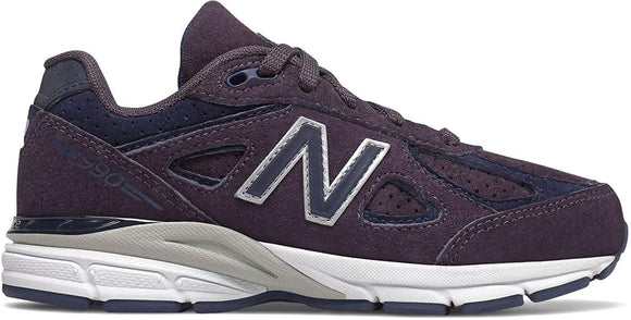 New Balance Kid's 990 Shoes Elderberry