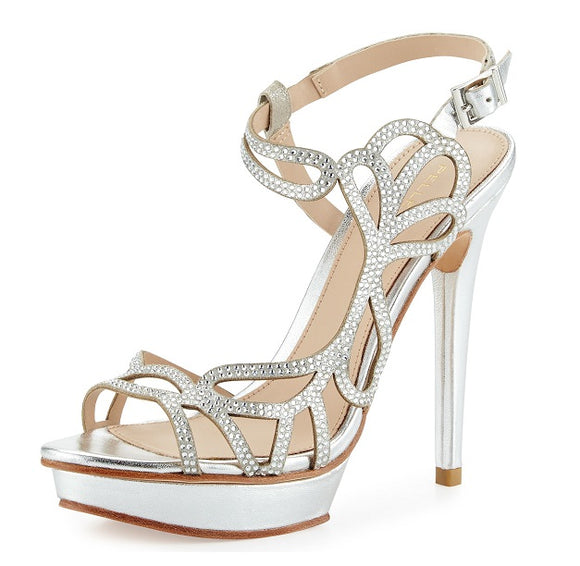 Pelle Moda Women's Fey High Heel Sandals