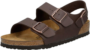 Birkenstock Women's Milano Sandals Dark Brown