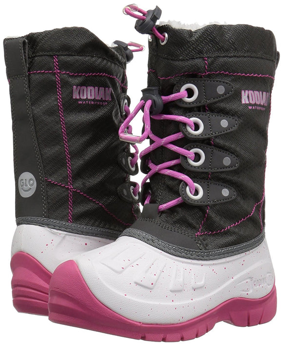 Kodiak Girl's Cali Waterproof Snow Boots Size 6.0M