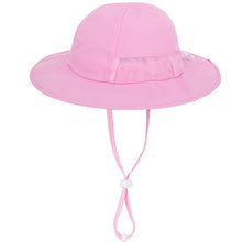 Load image into Gallery viewer, Baby Sun Hat UPF 50+ Sun Protection Toddler Infant Wide Brim Travel Sun Hat