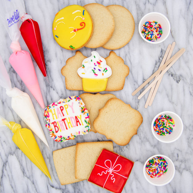 DIY Birthday Cookie Decorating Kit