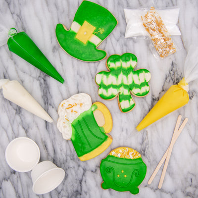 DIY St Patrick's Day Cookie Decorating Kit