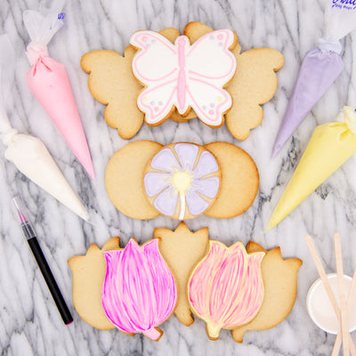 DIY Flower Power Cookie Decorating Kit