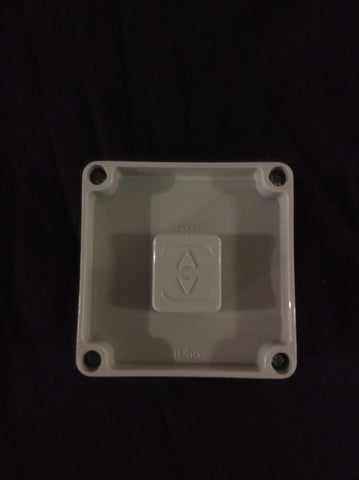 Weatherproof Switch - One Gang surface switch. 16A 250V IP56. 83 x 83mm