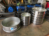 200mm Diameter Stainless Steel Sieves